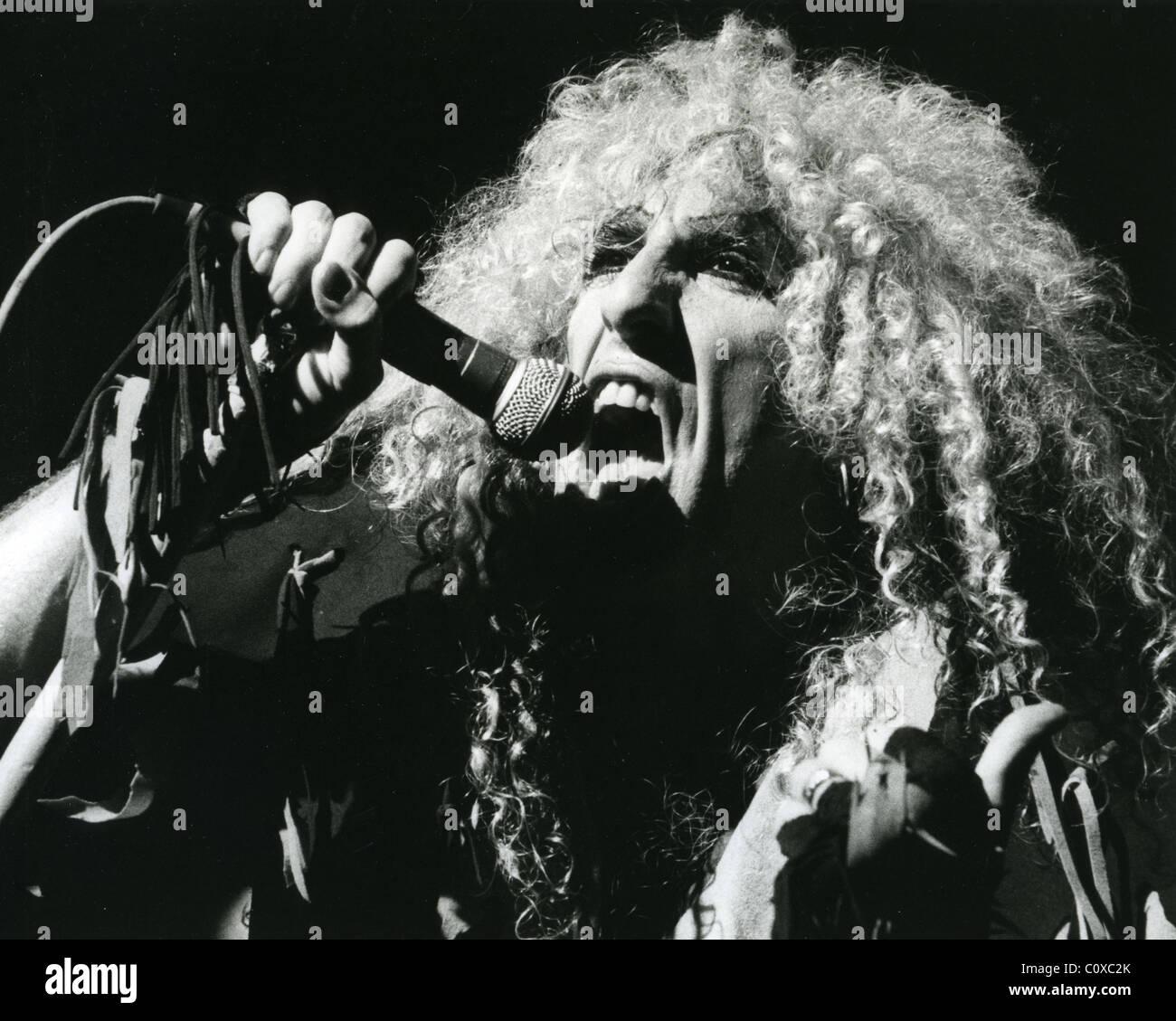 TWISTED SISTER - noi del gruppo rock con Dee Snider nel 1984. Foto Stefano Woodd Immagini Stock
