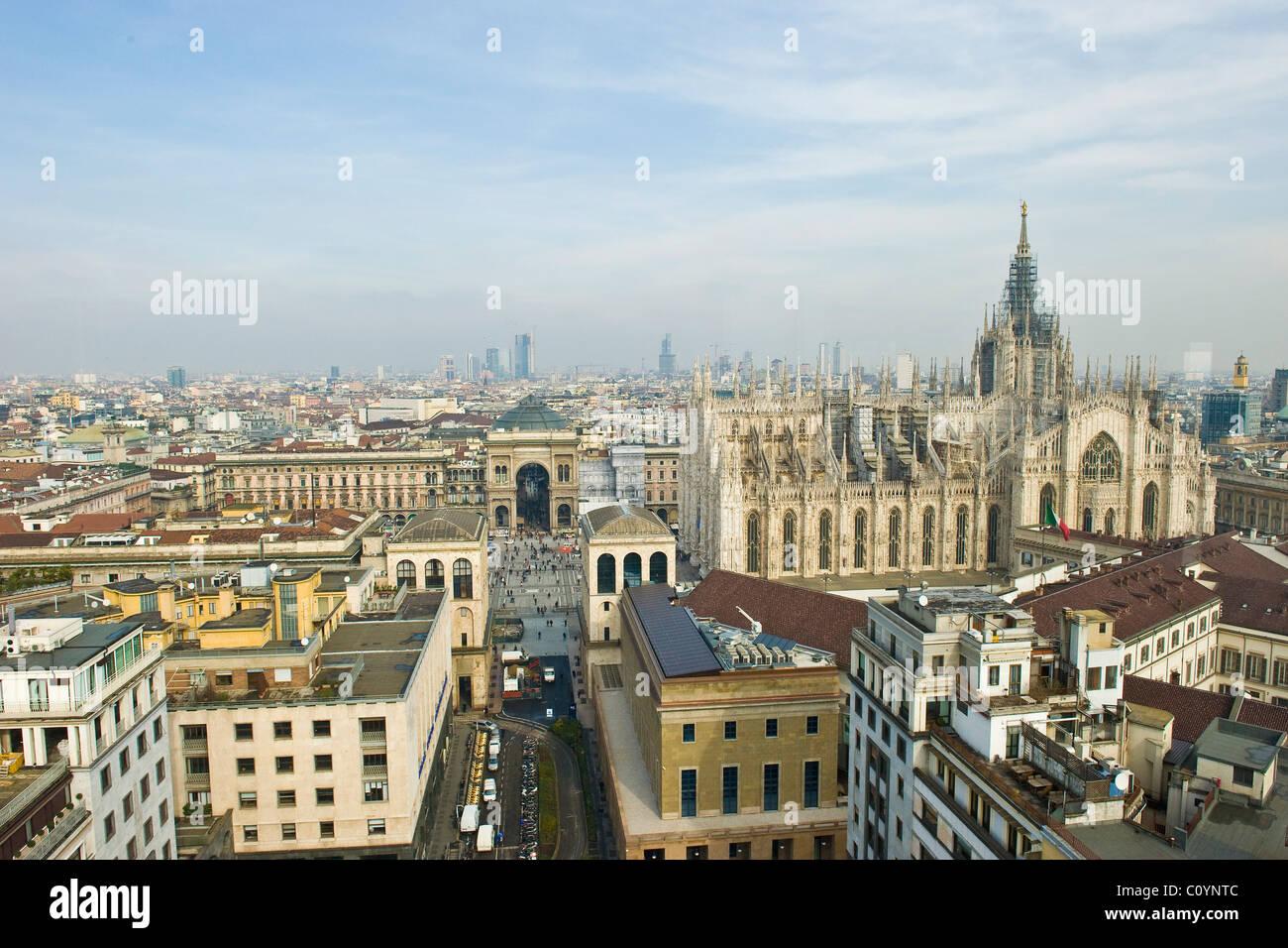 Panorama dalla terrazza Martini, Milano Foto & Immagine Stock ...