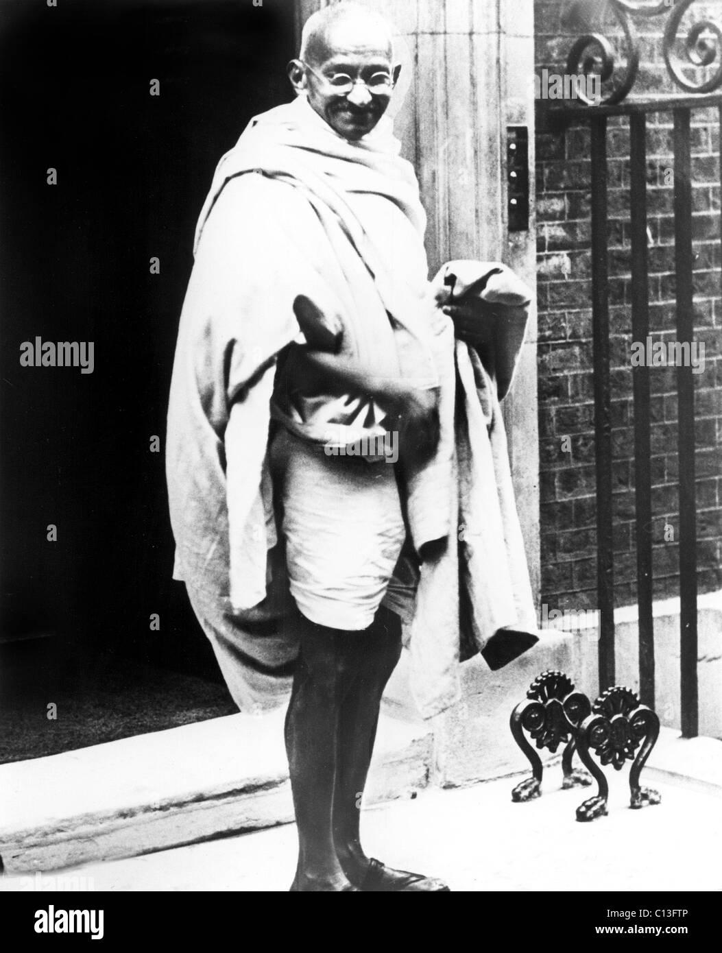 Il Mahatma Gandhi, 1931 Immagini Stock