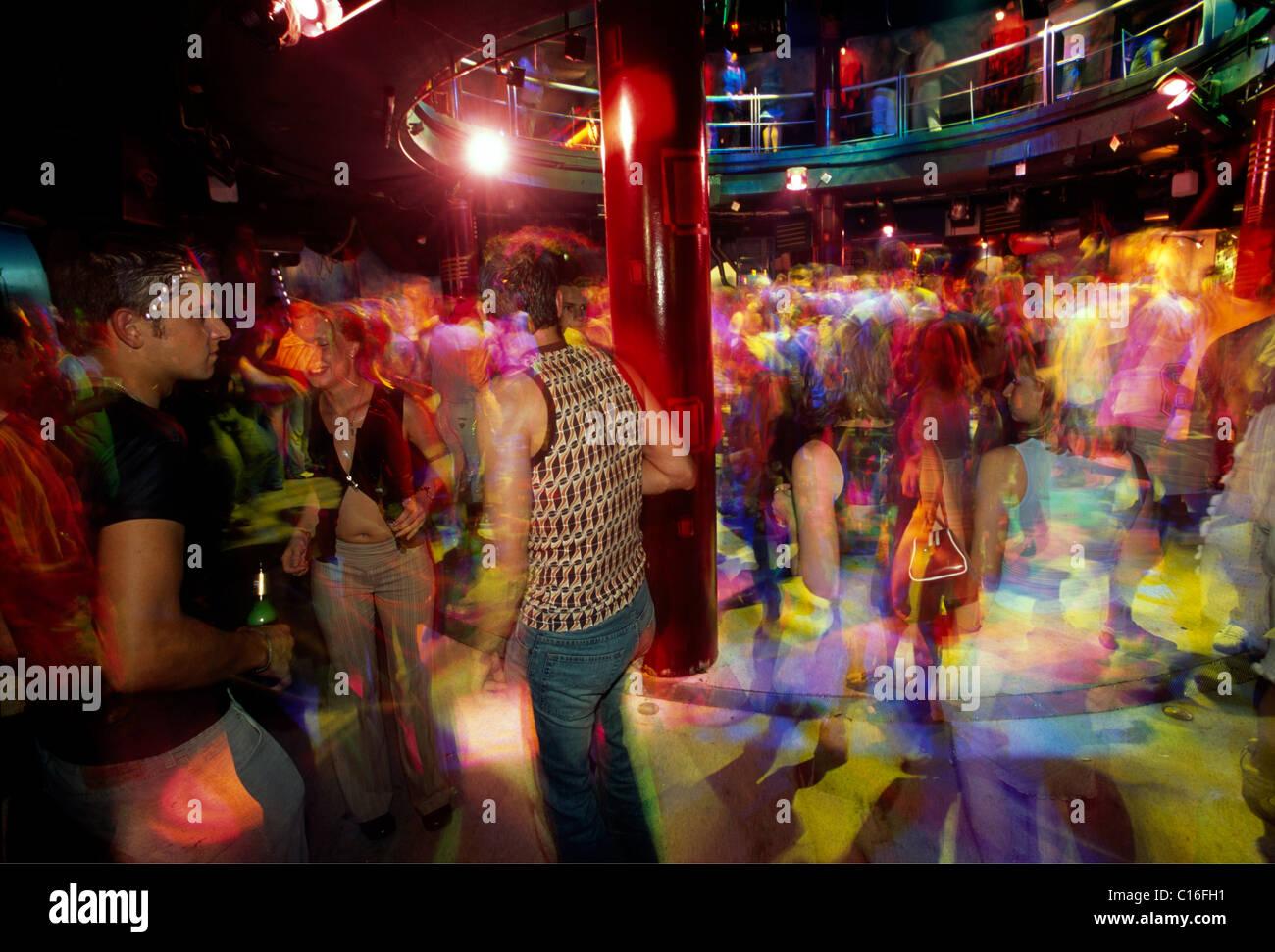 Discoteca Palace a Siofok al Lago Balaton, Ungheria, Europa Immagini Stock