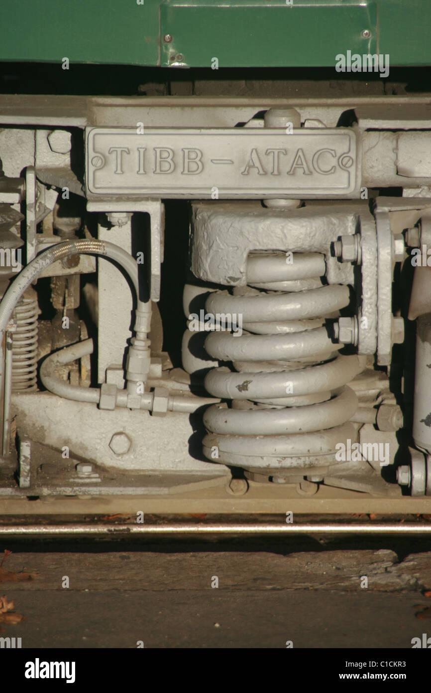 funzionamento del tram Immagini Stock