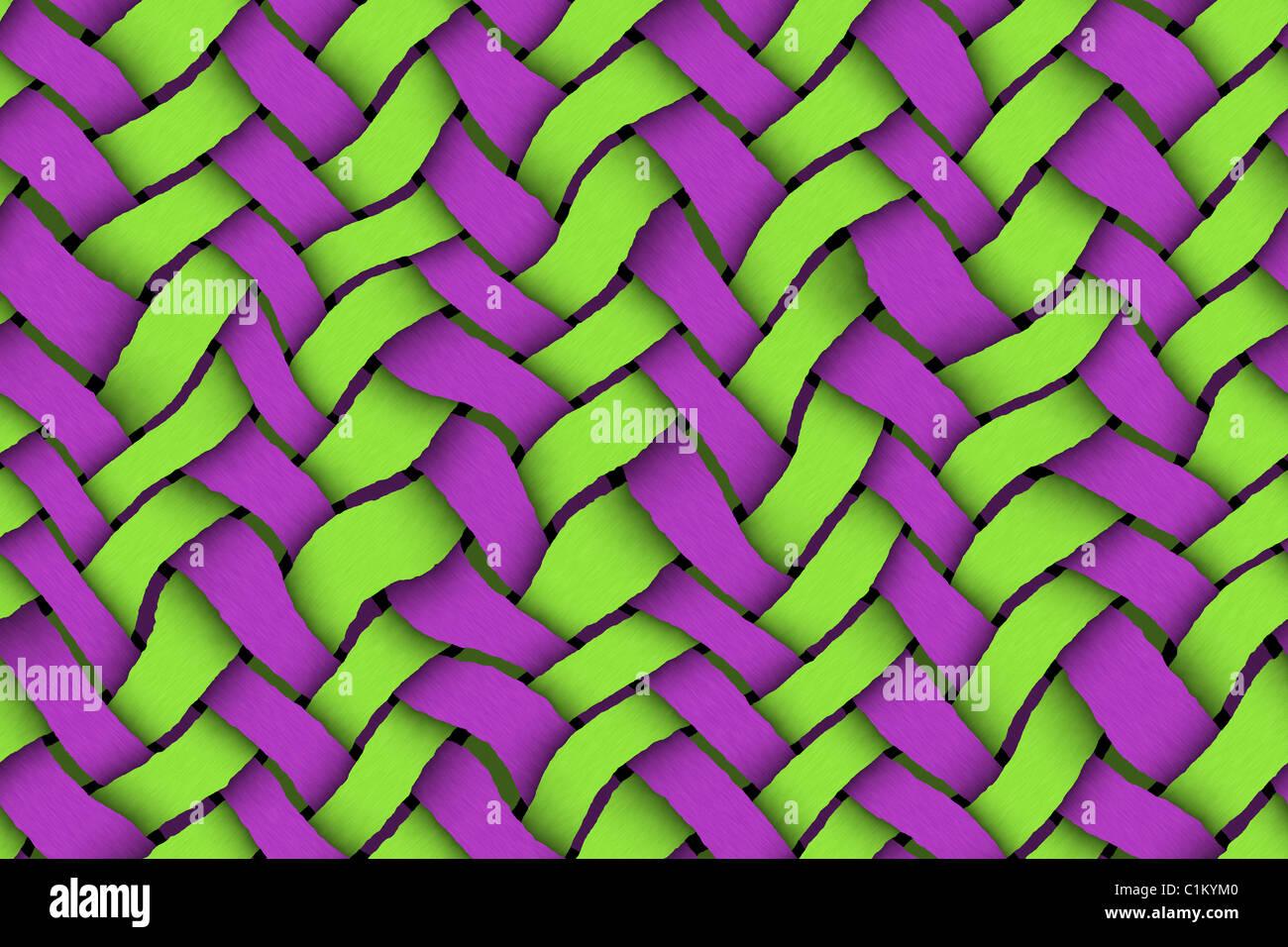 Gli Sfondi E Le Texture Twill Texture Di Sfondo Verde E Viola Foto