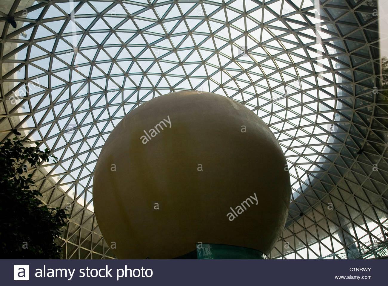Shanghai Pudong, Museo delle Scienze e della tecnologia, Cina Immagini Stock