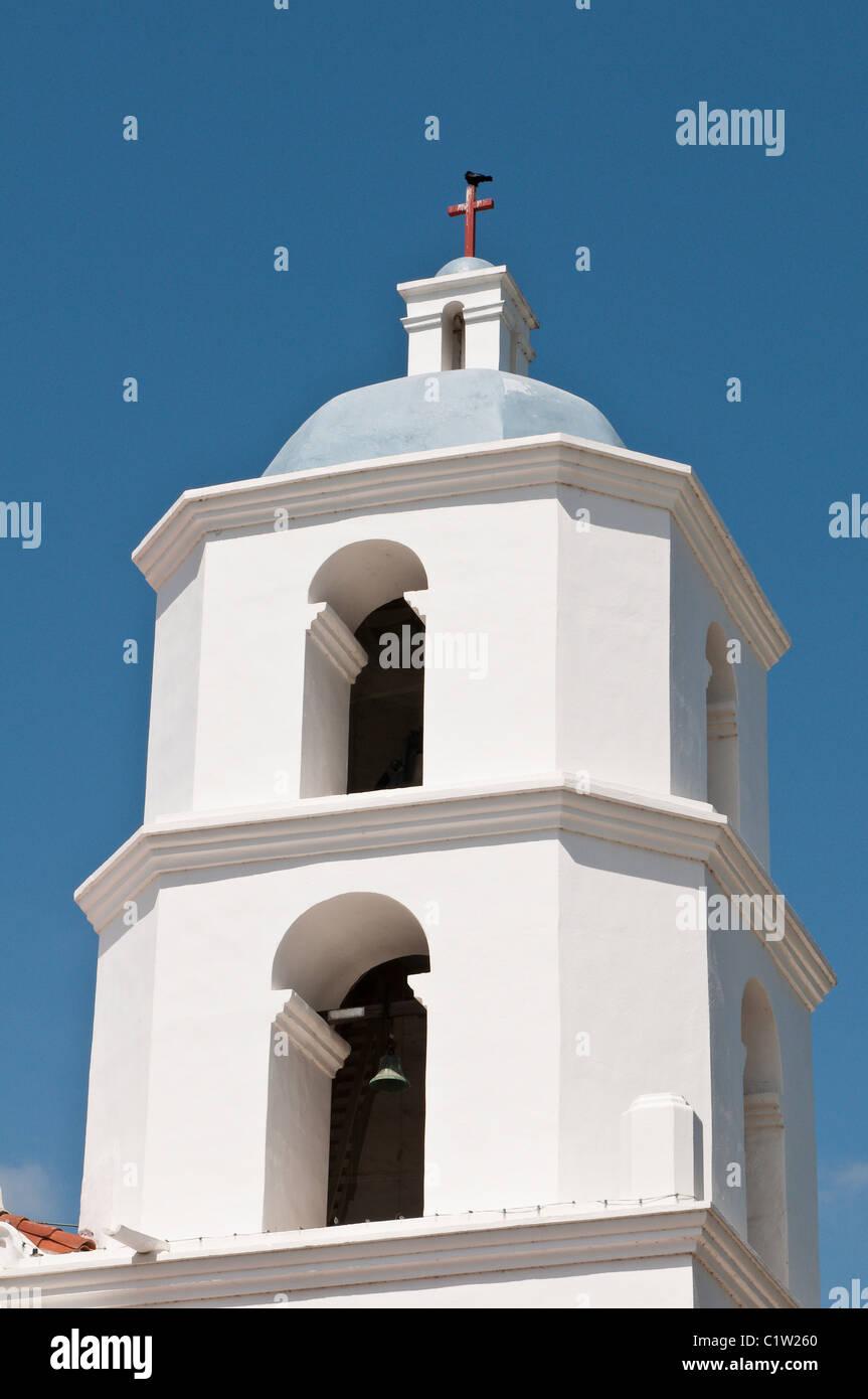 Oceanside, California. La missione di San Luis Rey de Francia. Immagini Stock