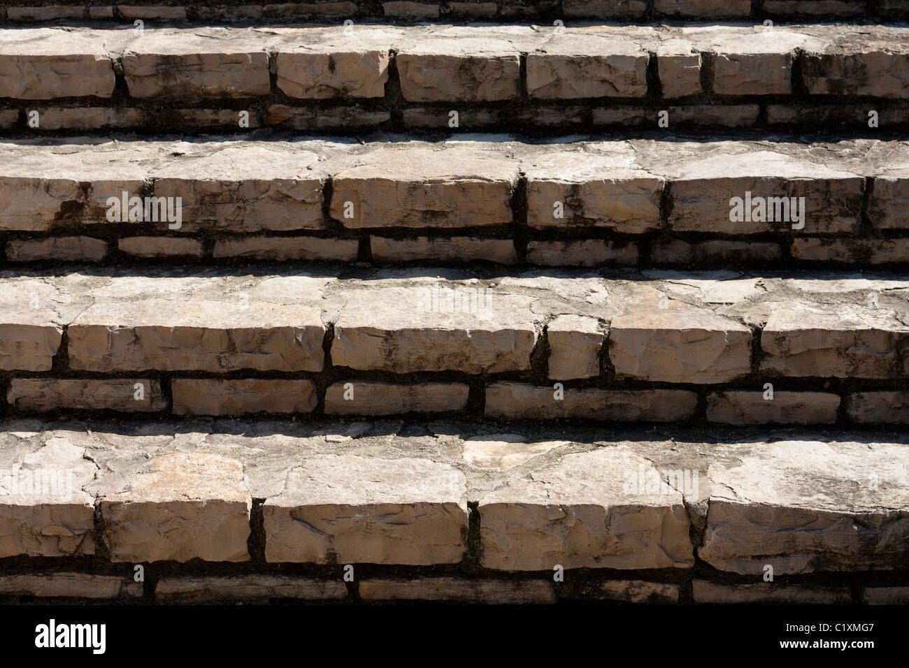 Scale di pietra Immagini Stock