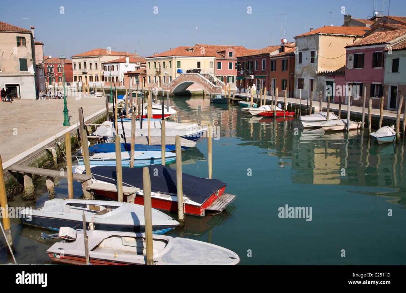 Venezia - architettura dall' isola di Murano Immagini Stock