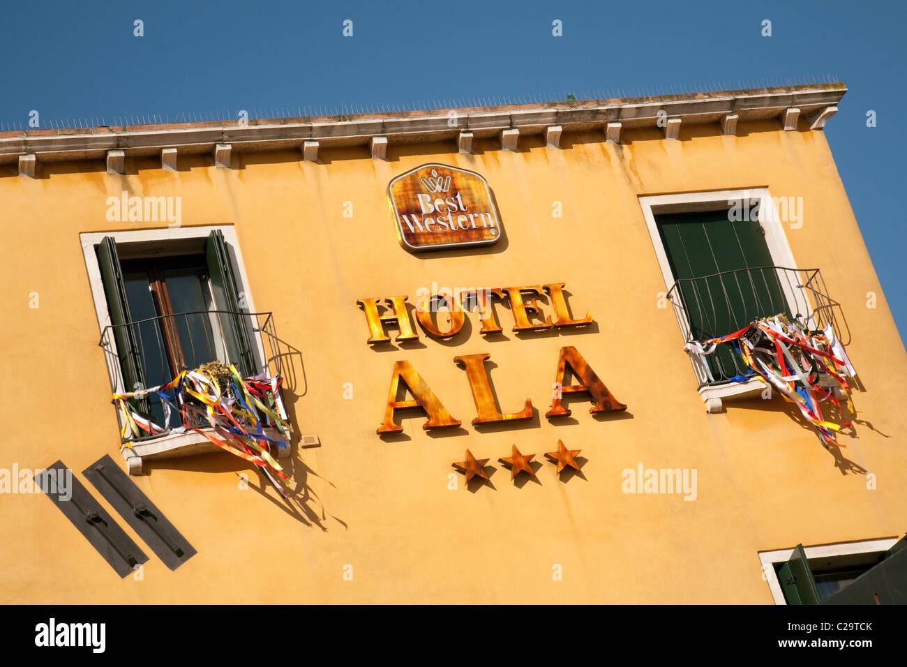 Il Best Western Hotel Ala, Venezia, Italia Immagini Stock