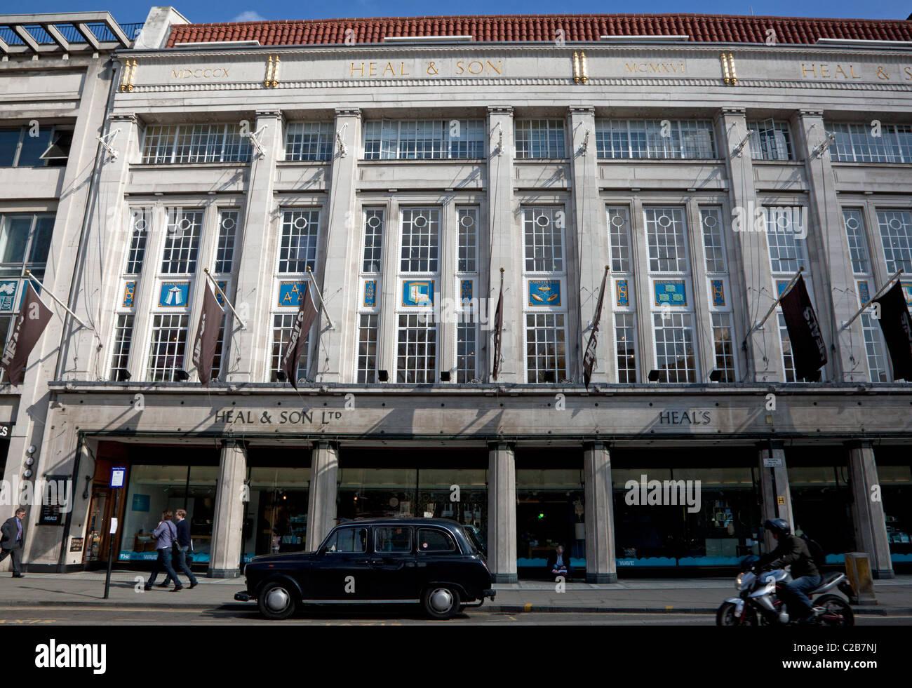 Guarire il negozio, Tottenham Court Road, Londra Foto Stock