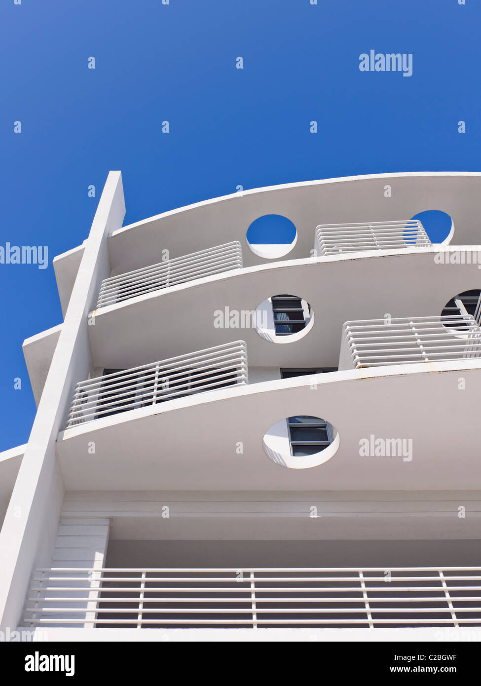 L'Hotel Strand, South Beach, Miami Immagini Stock