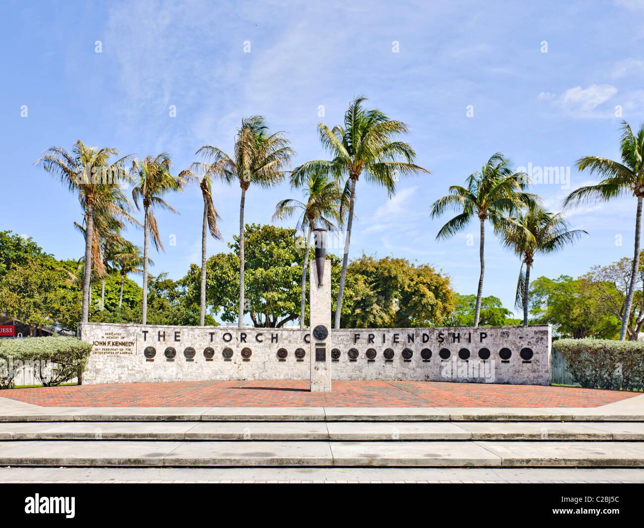 Torcia di amicizia, Miami Immagini Stock