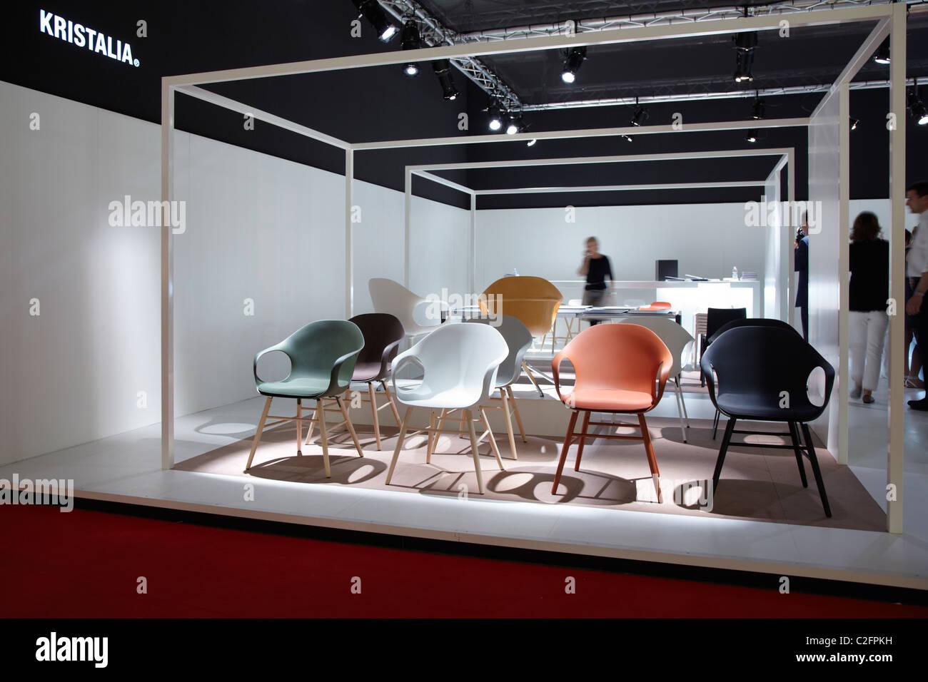 Salone del Mobile di Milano 2011, furniture fair Immagini Stock