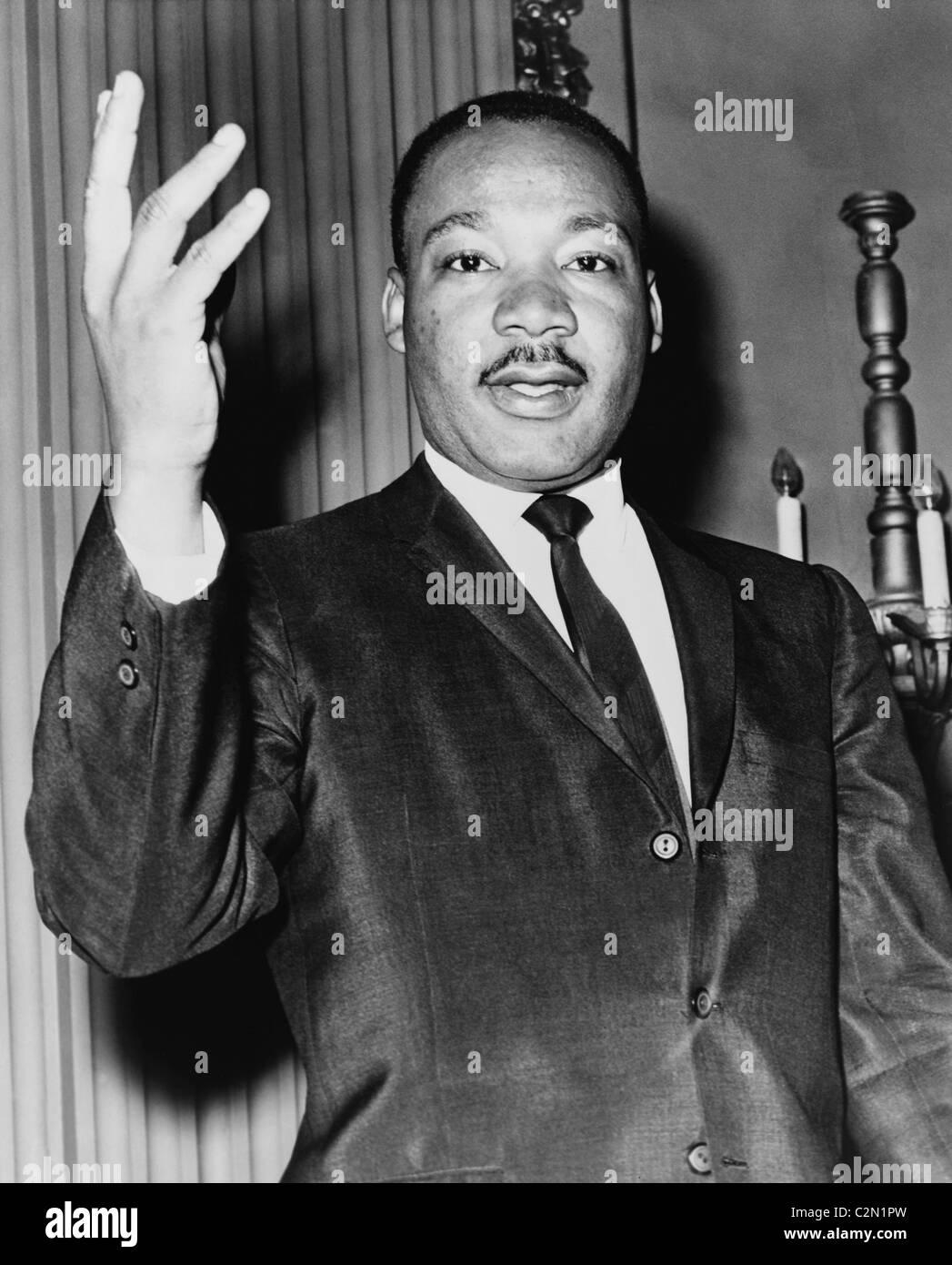 Il dott. Martin Luther King Jr. Foto Stock