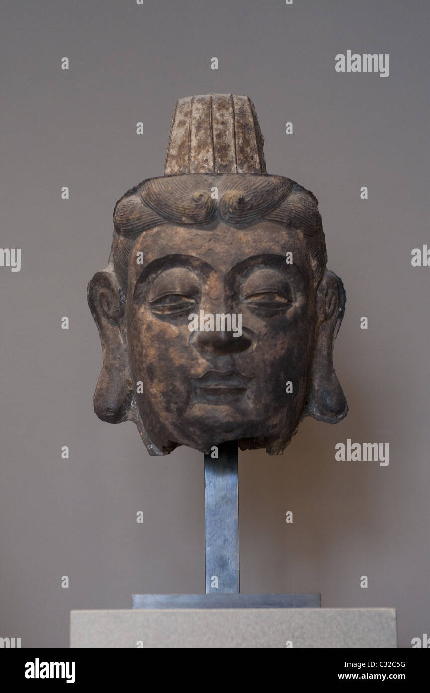 Asian Antiques Disciplined Vecchia Testa Budda Antiques