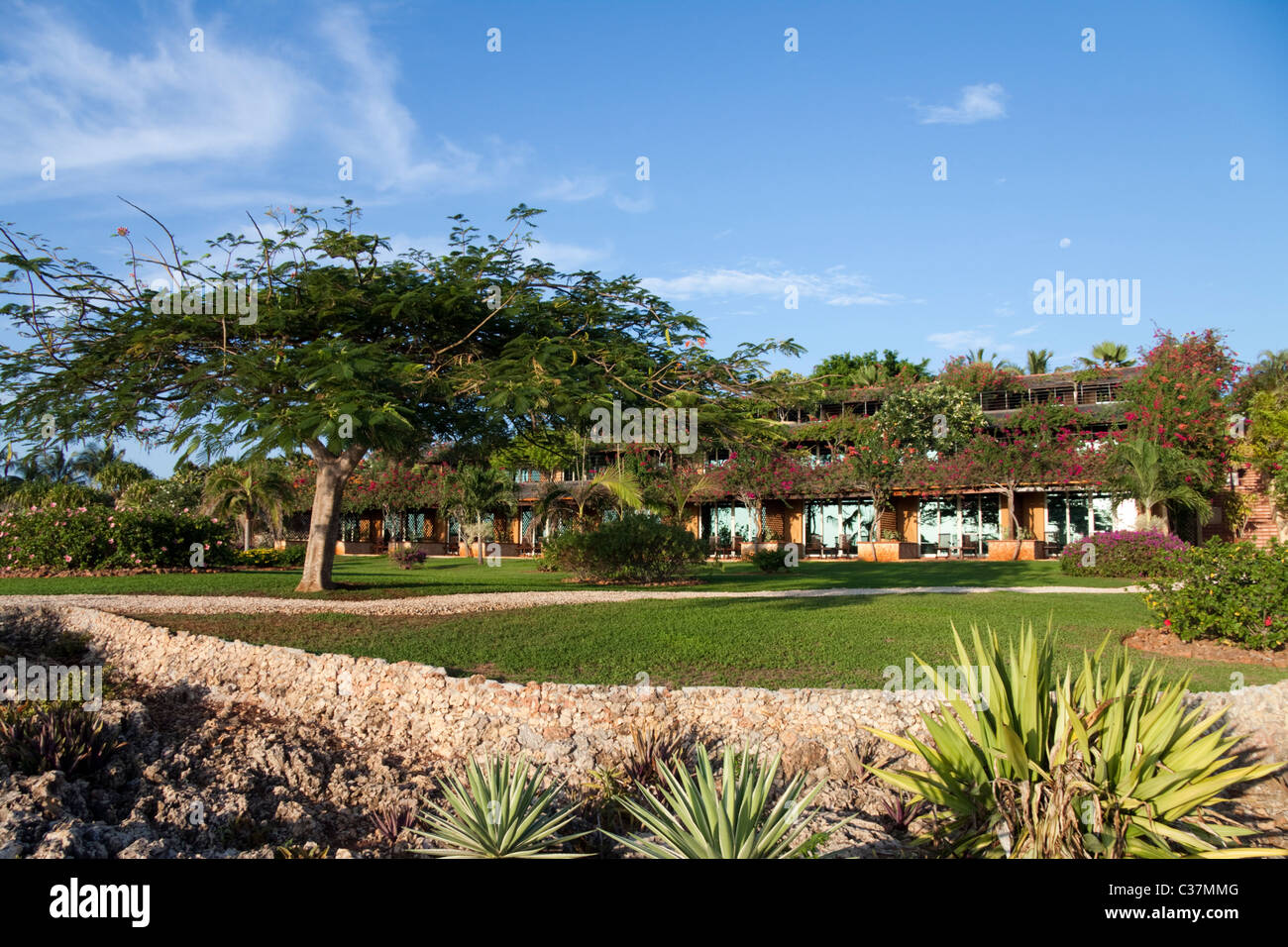 La gemma dell Est Hotel, Zanzibar Immagini Stock
