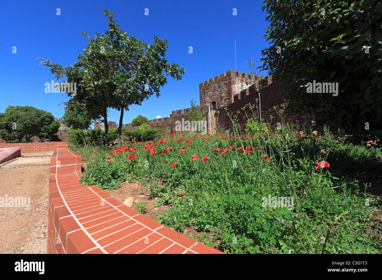 Il castello di silves algarve portogallo giardini for Giardini moderni