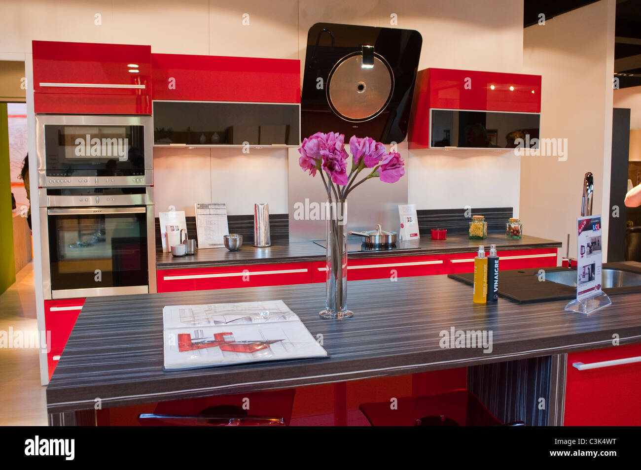 Parigi, Francia, il Design Italiano Cucina interna a Trade ...