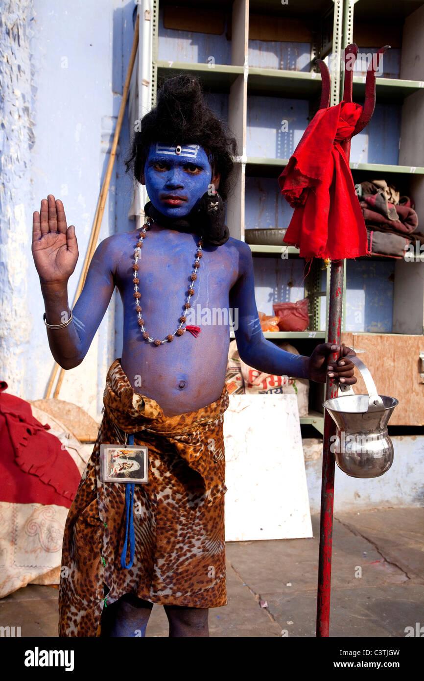 6932a88ed5bb Popolo Indiano e vita quotidiana durante il cammello annuale fiera di  Pushkar