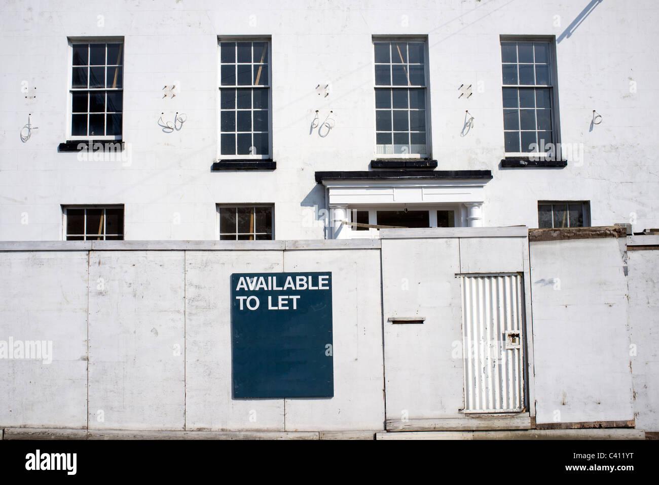 Residenza georgiana disponibile per consentire Immagini Stock