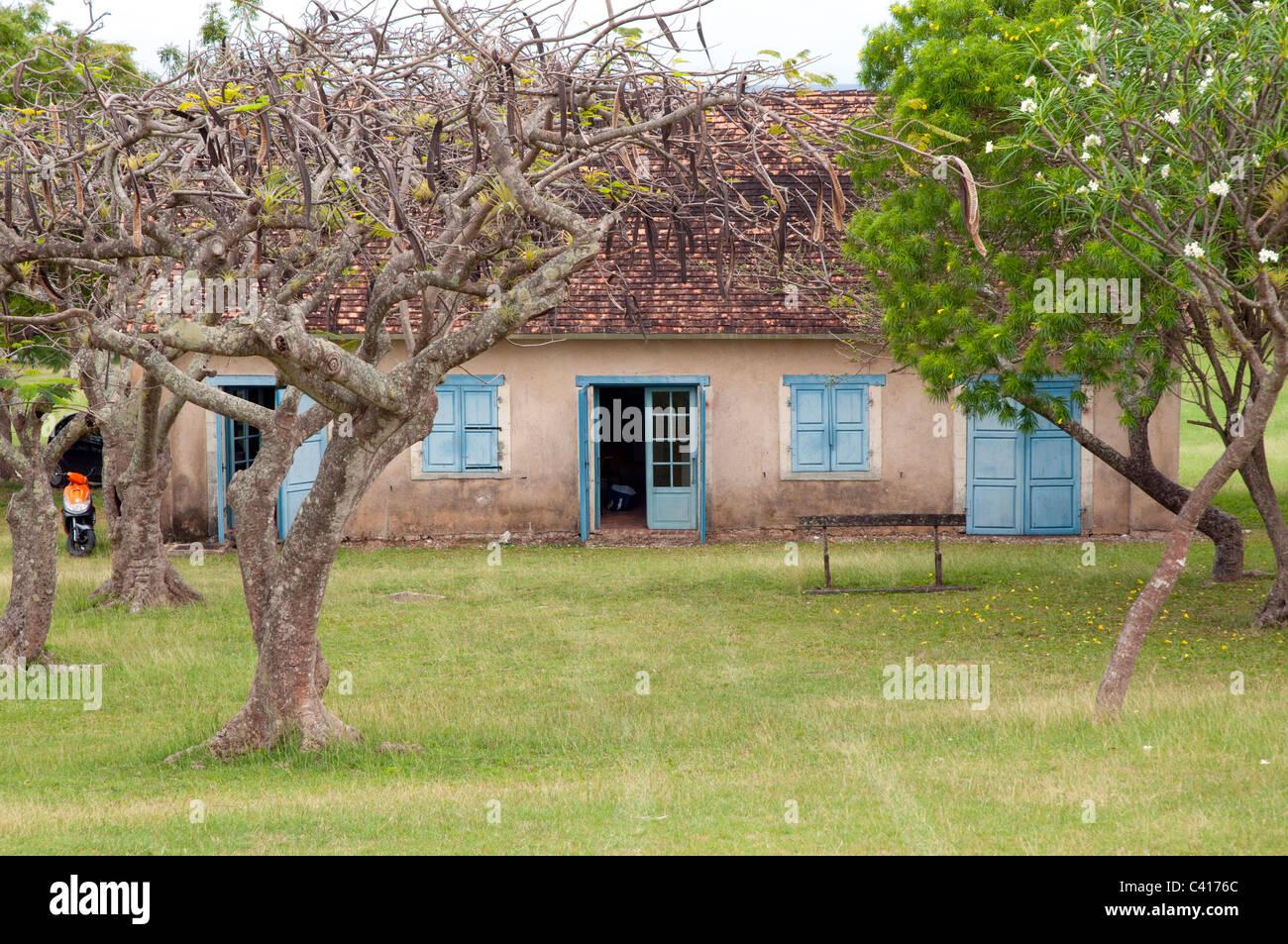 Marie- Galante - West Indies francese - Abitare Murat Immagini Stock