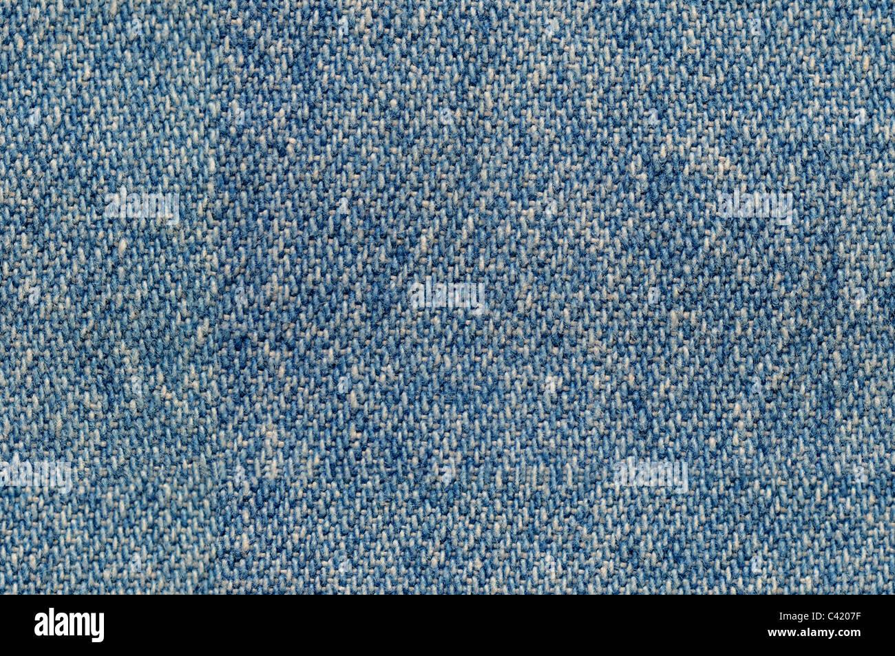 Blu Denim tessuto di sfondo piastrellabile senza problemi Immagini Stock