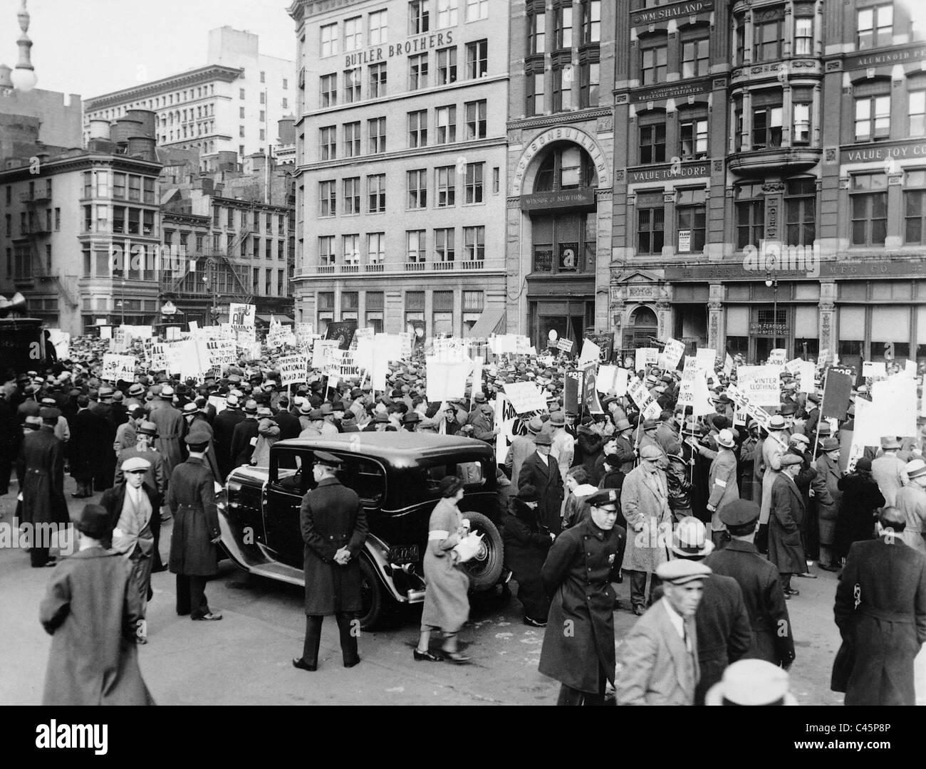 Grande Depressione Immagini Stock
