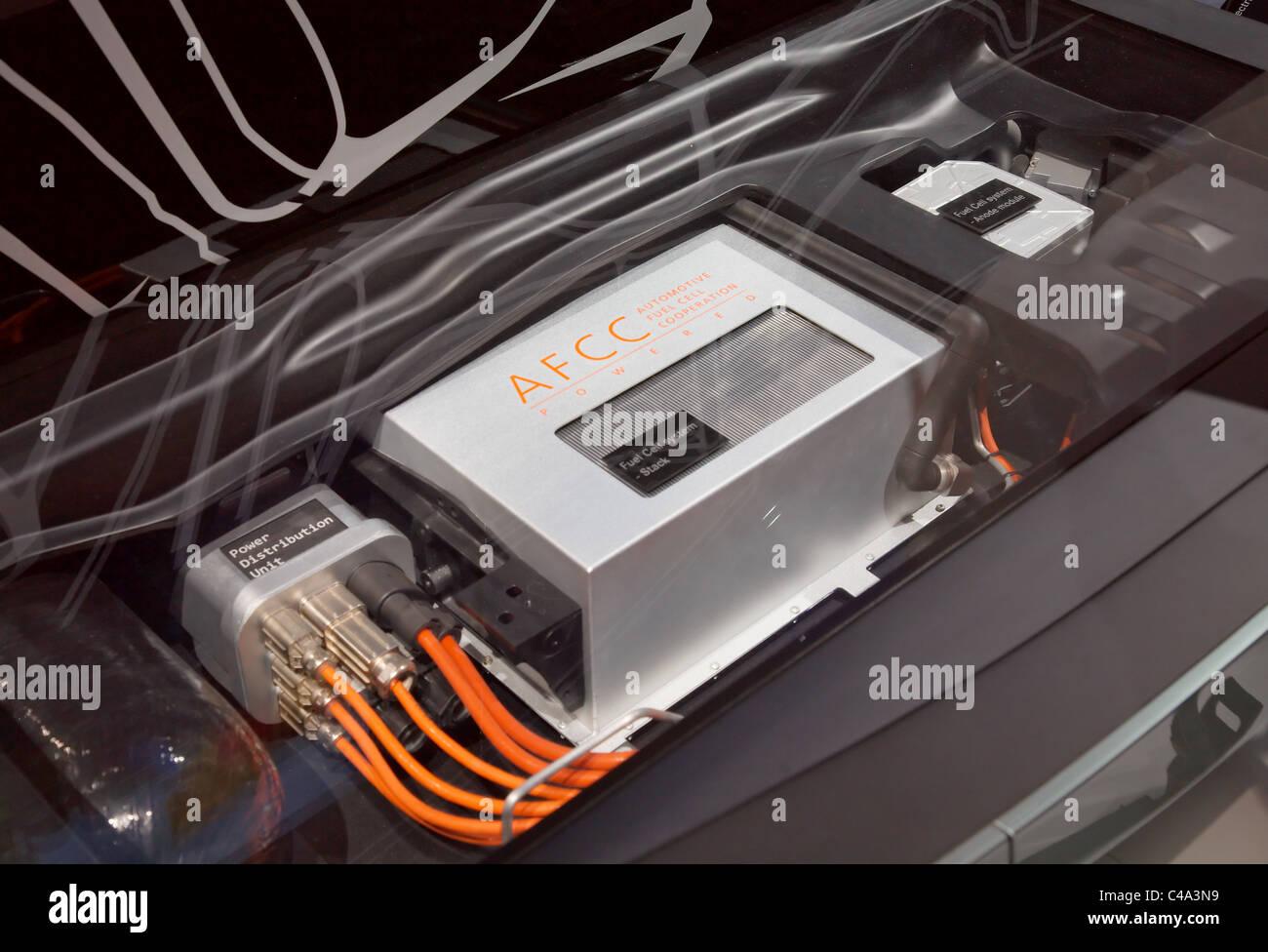 Mercedes Bluezero cella a combustibile Plus Immagini Stock