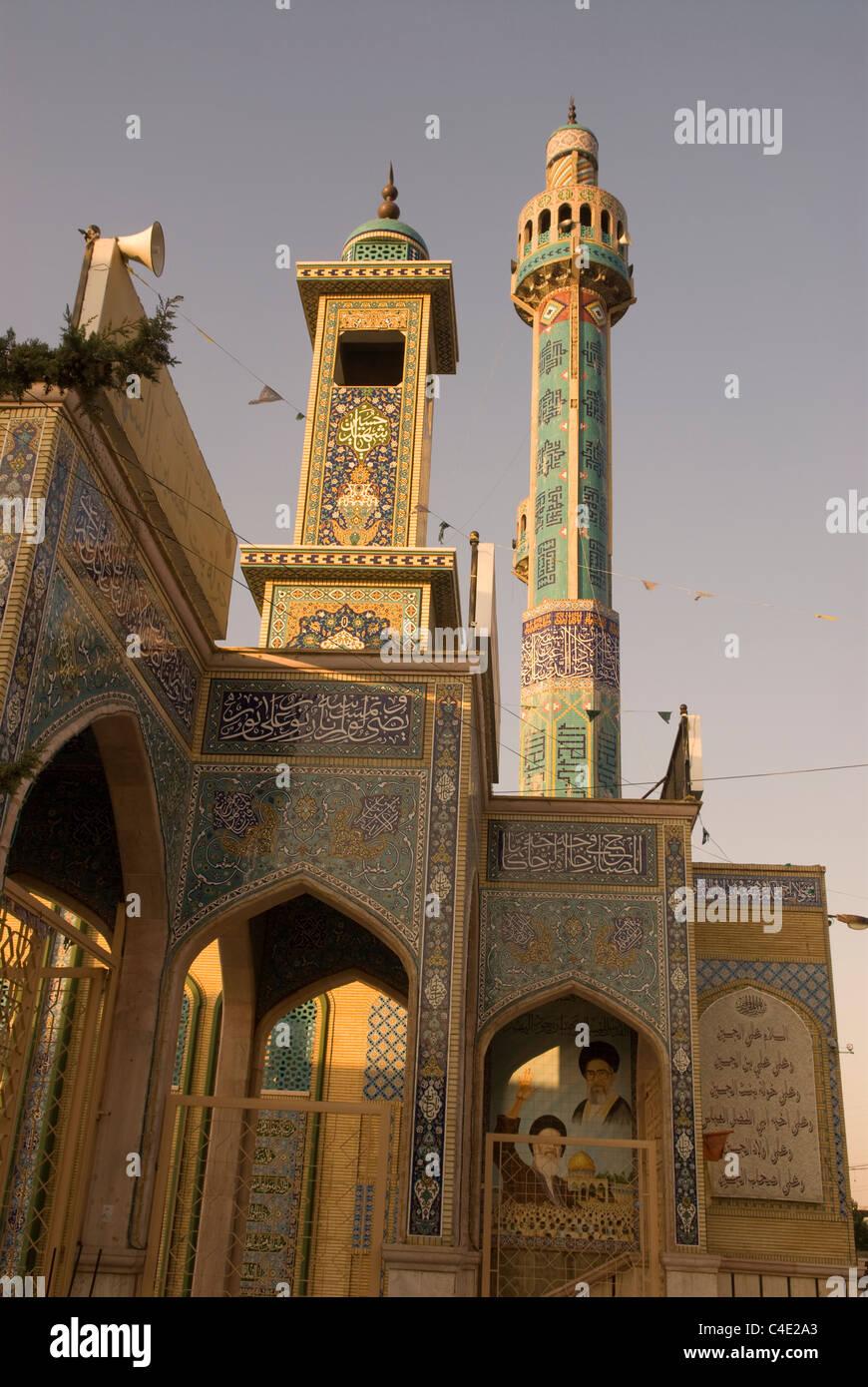 La moschea, Baalbek, Bekaa Valley, il Libano. Immagini Stock