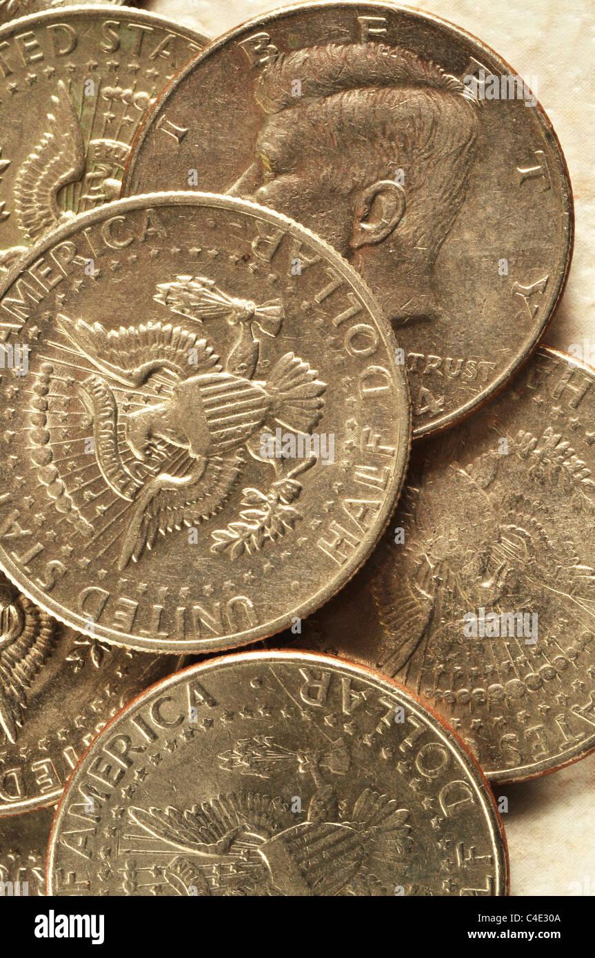 Immaginiamp; Stock Half Kennedy Dollar Fotos Alamy n0wmvN8