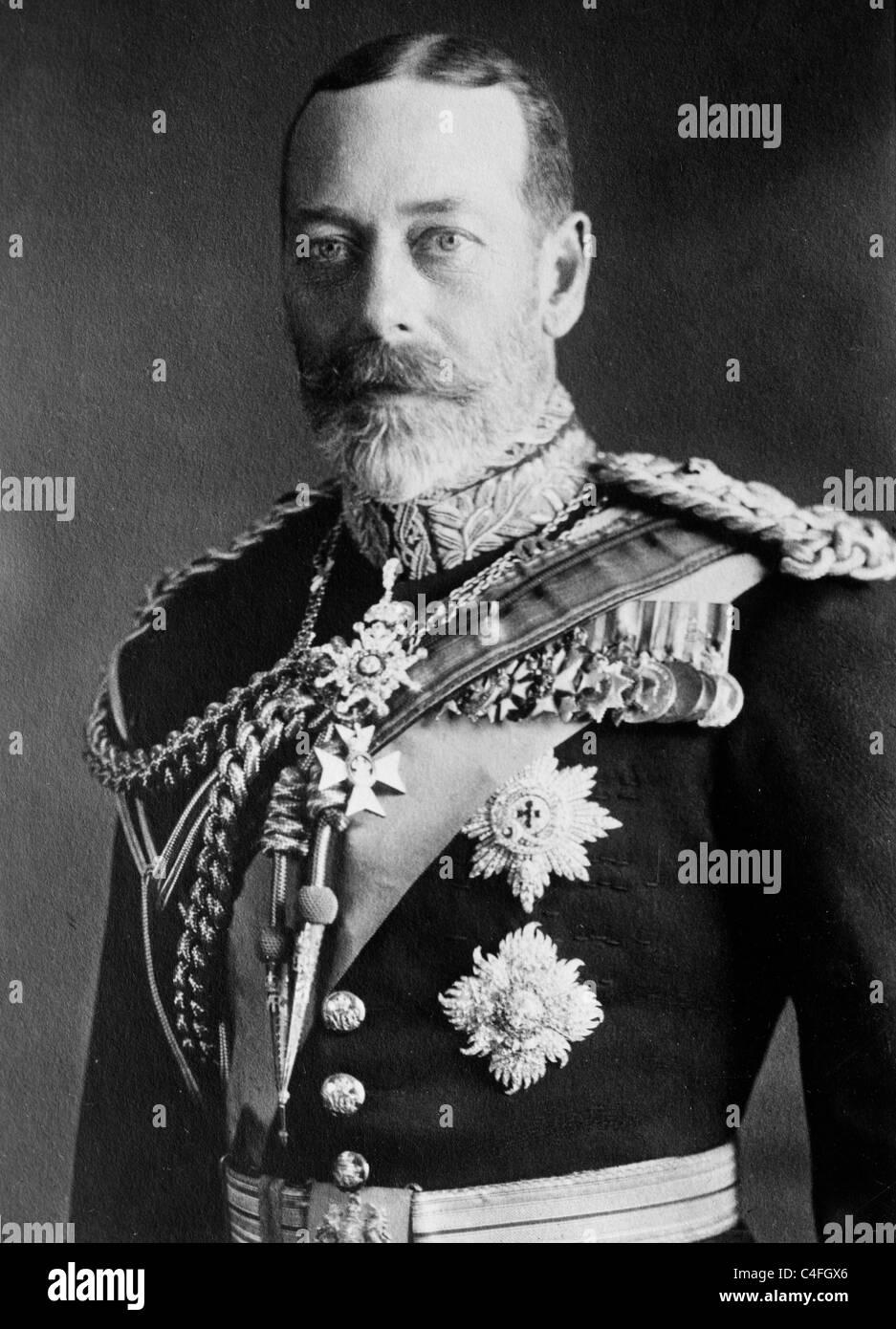 Re George V Immagini Stock