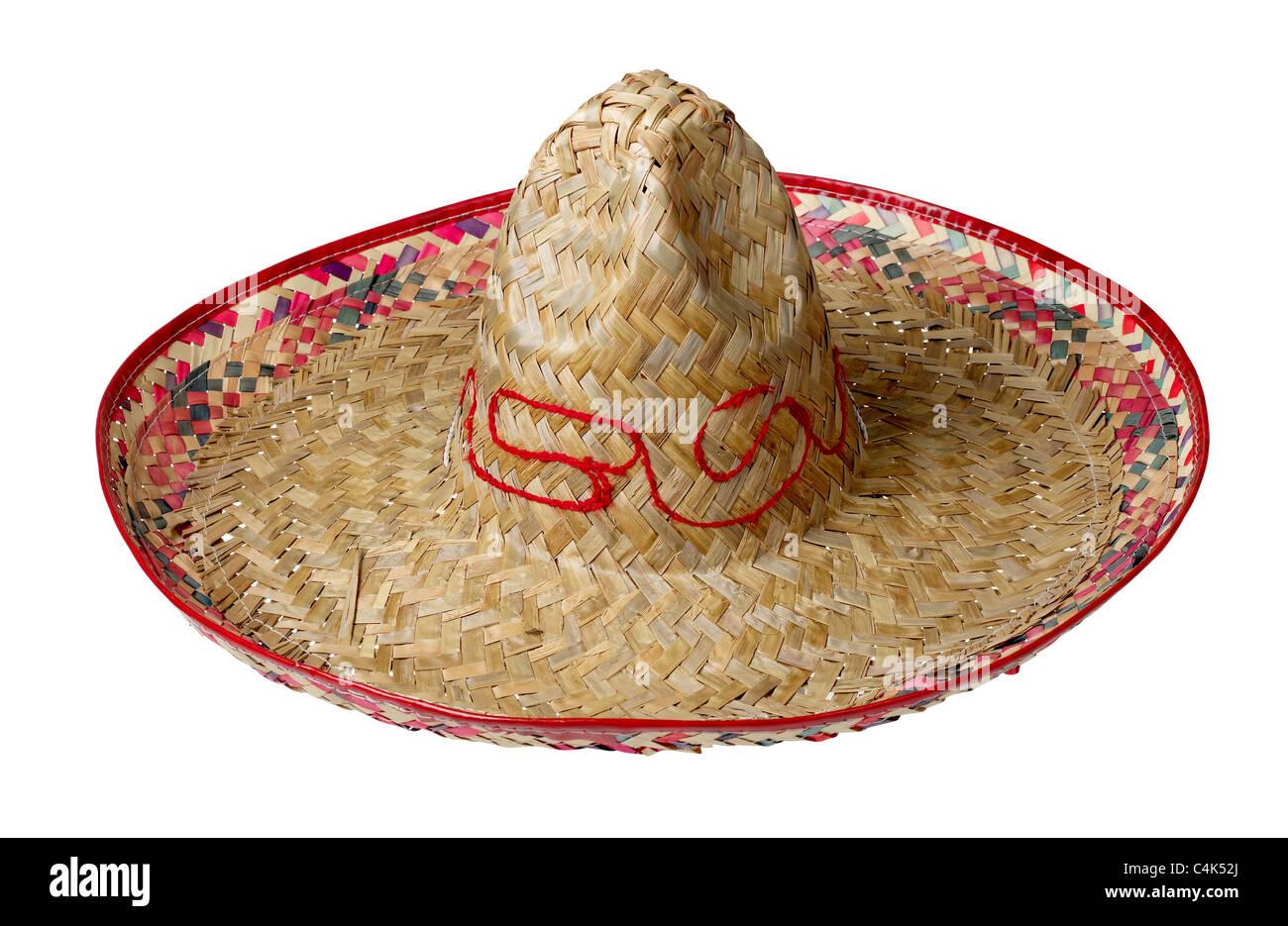 Sombrero cappello di paglia Immagini Stock