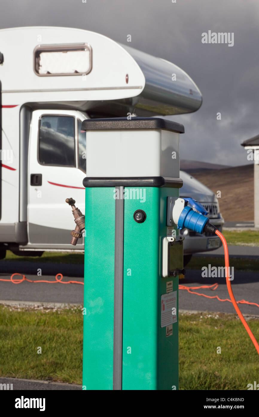 Campeggio senza collegamento acqua