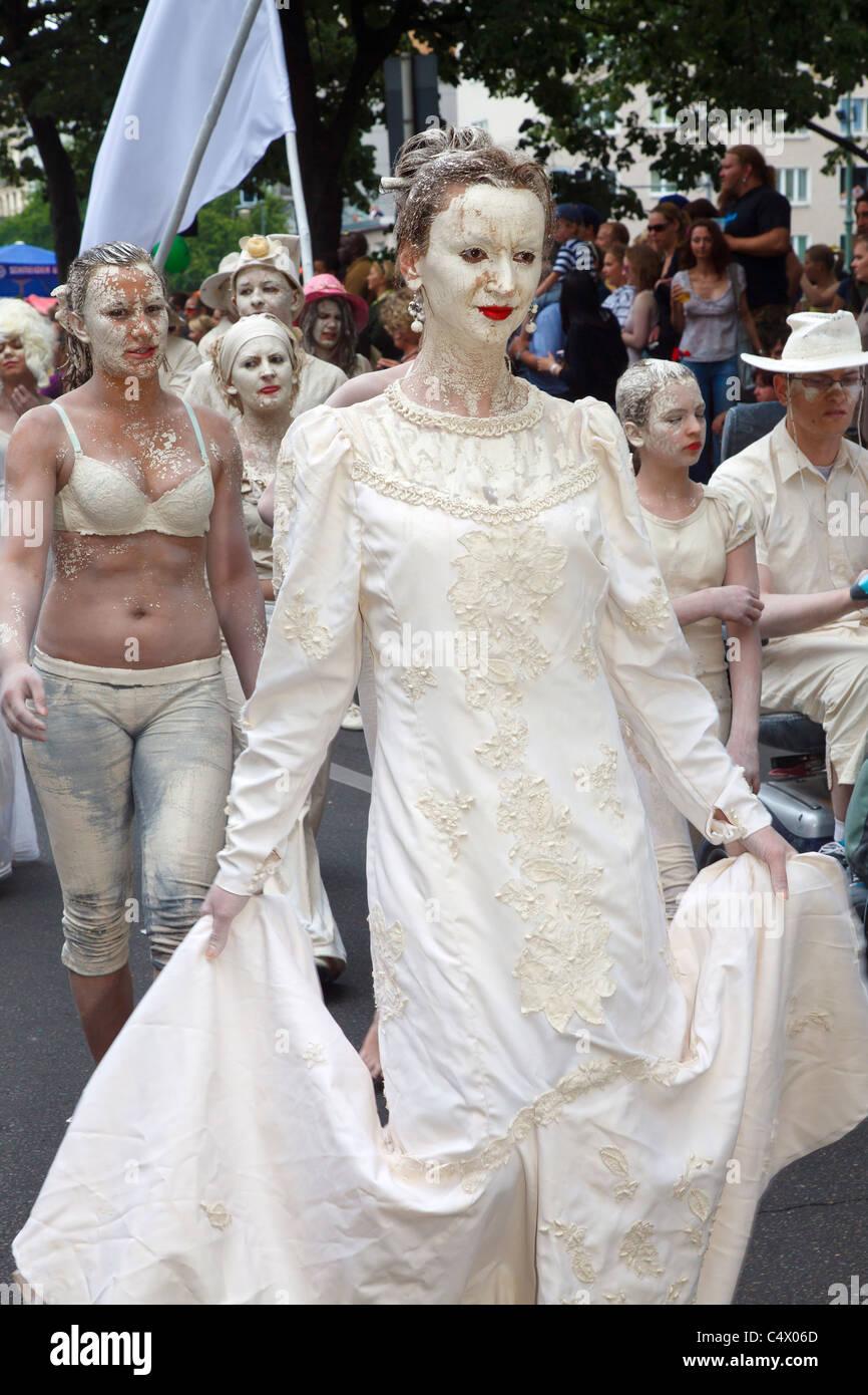 Il Carnevale delle culture di Berlino 2011 Immagini Stock