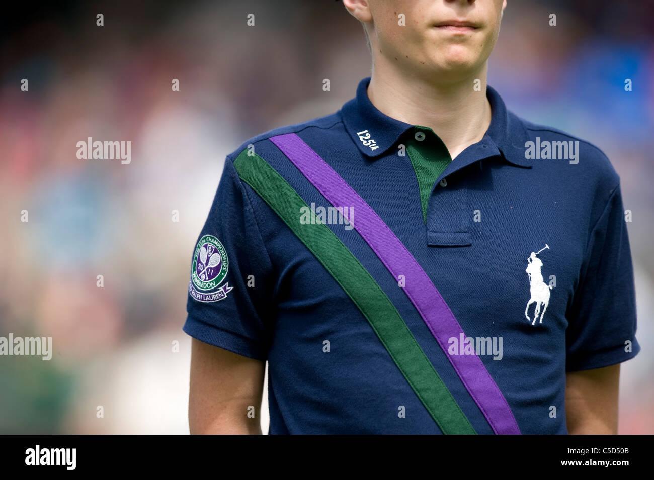 online store cd469 30a91 Polo Ralph Lauren palla ragazzo shirt dettaglio durante il ...