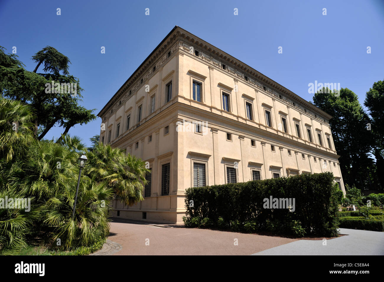 Italia, Roma, a trastevere, Villa Farnesina (villa Chigi) Immagini Stock