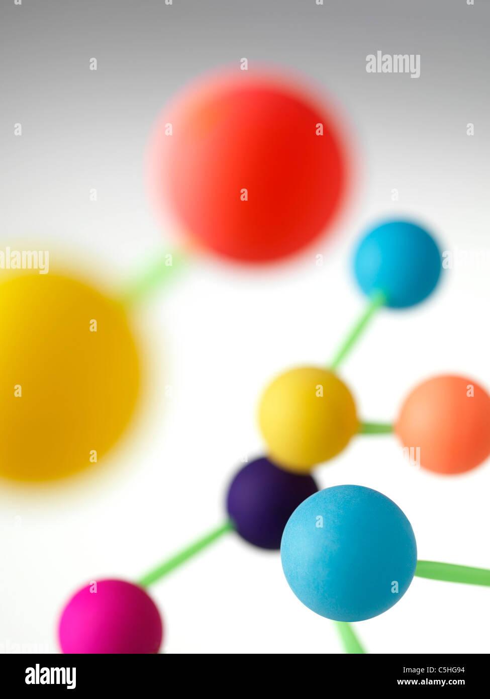 Struttura Molecolare Immagini Stock