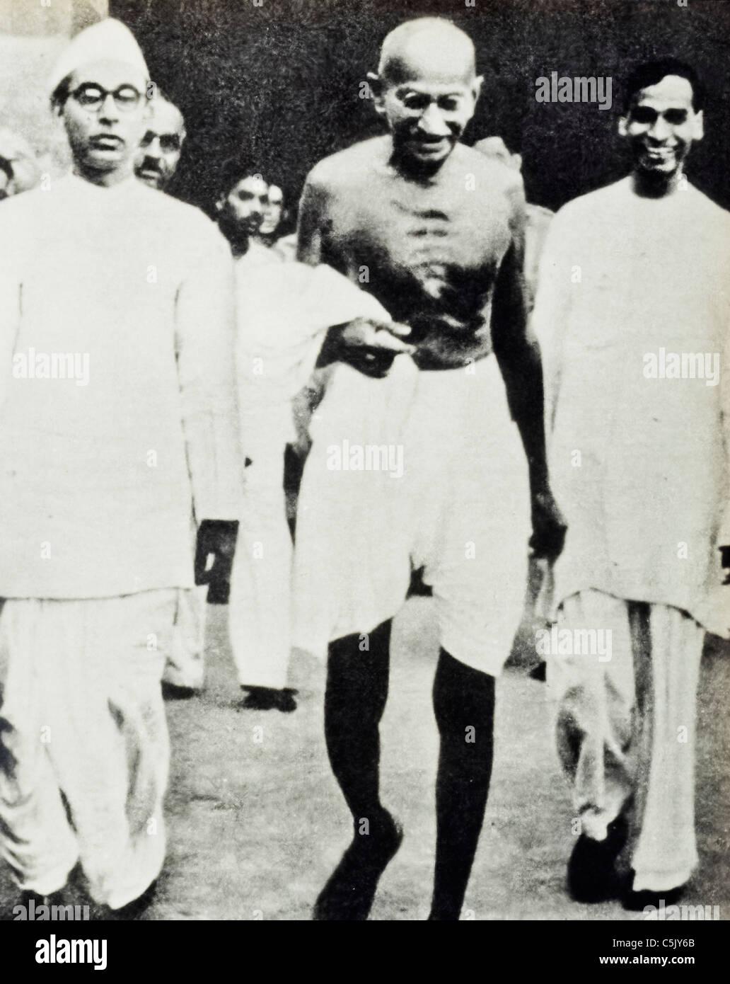 Mahatma Gandhi Immagini Stock