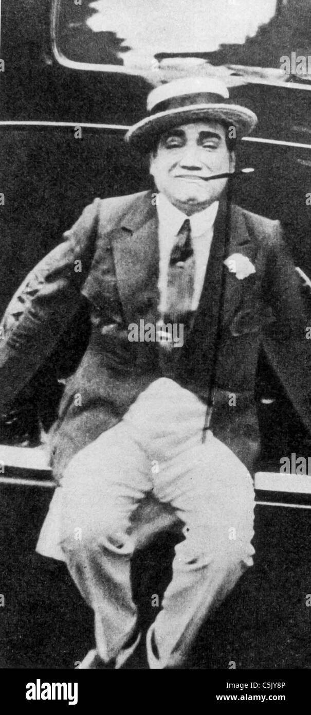 Enrico Caruso, 1910 Immagini Stock