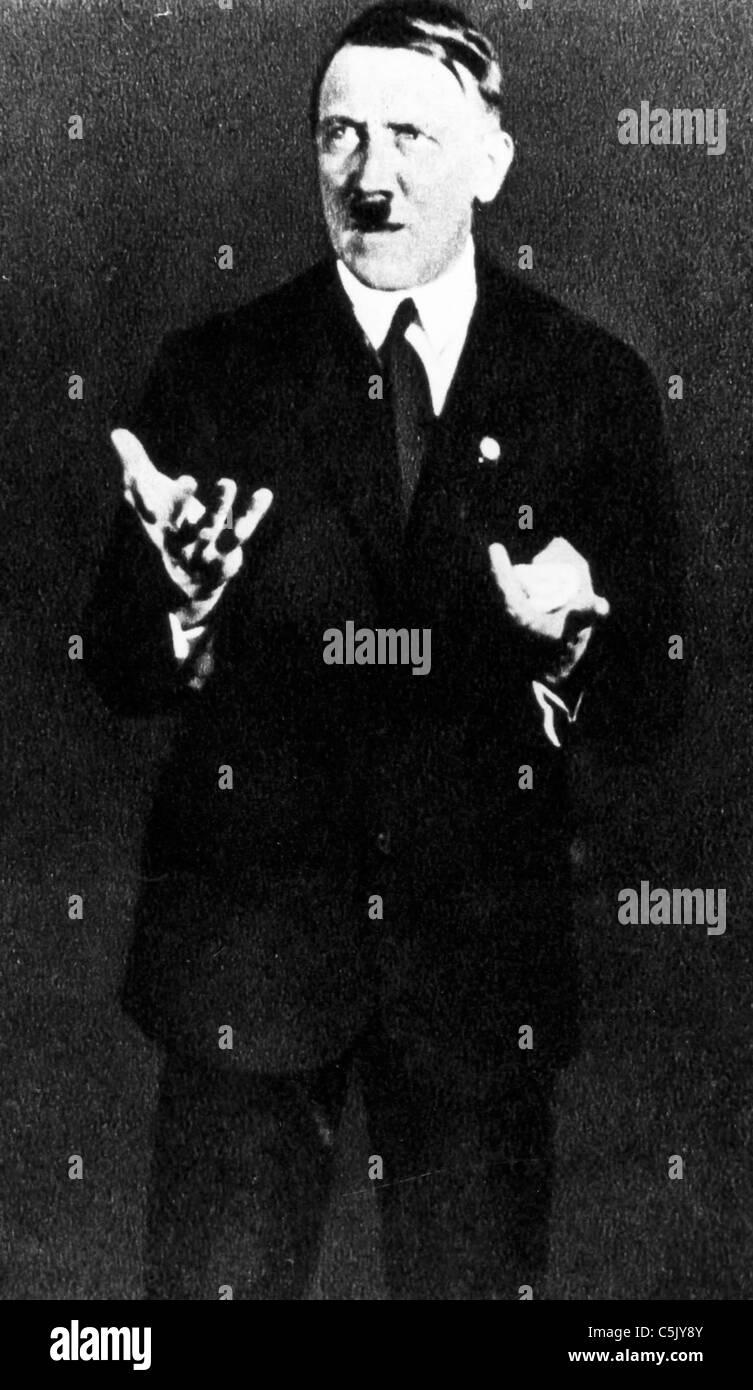 Adolf Hitler, 1930 Immagini Stock