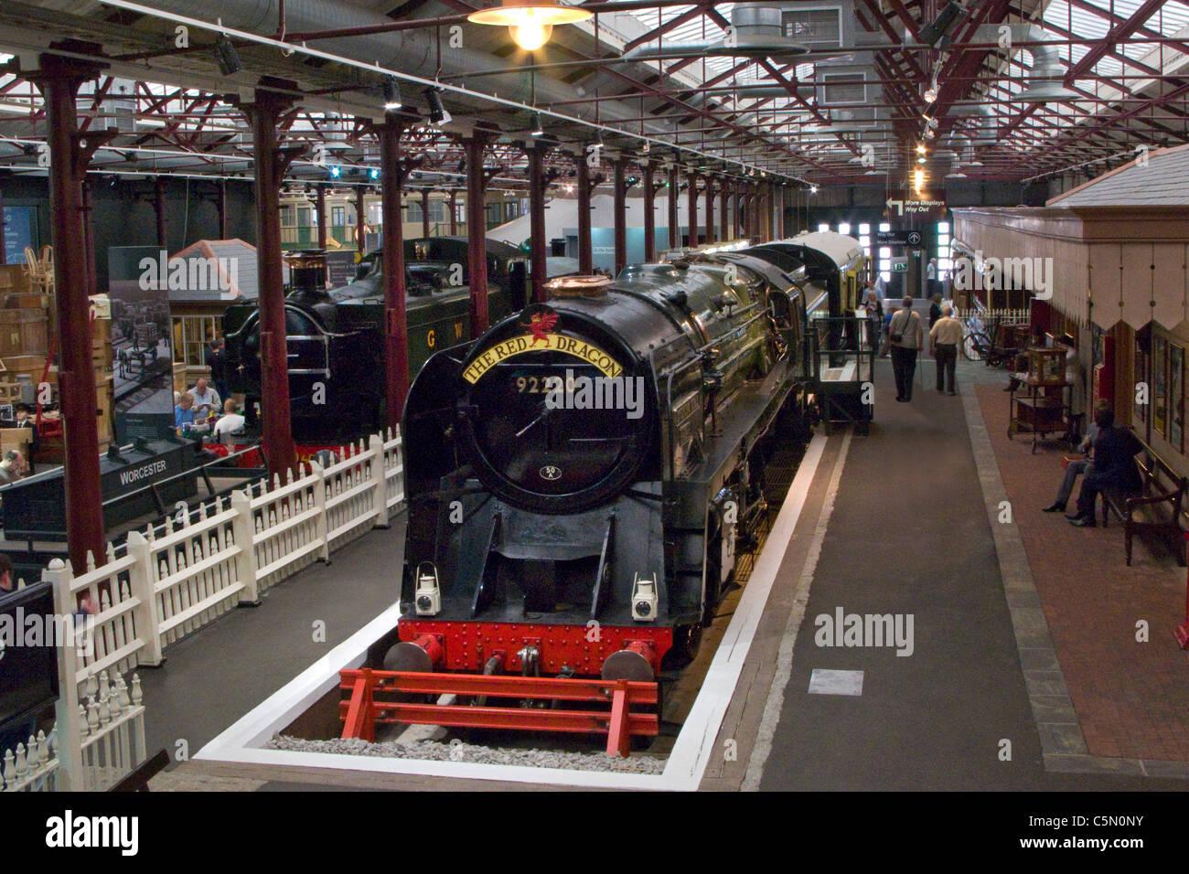 Interno di swindon railway museum vapore con stella for Interno della torretta vittoriana