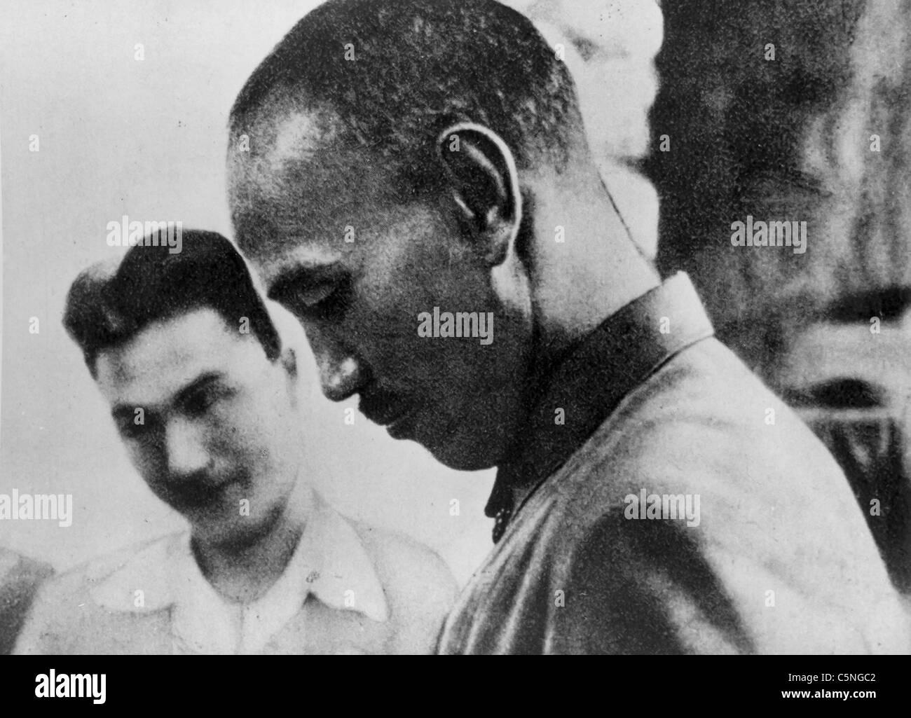 Chiang Kai-shek, 1930 Immagini Stock