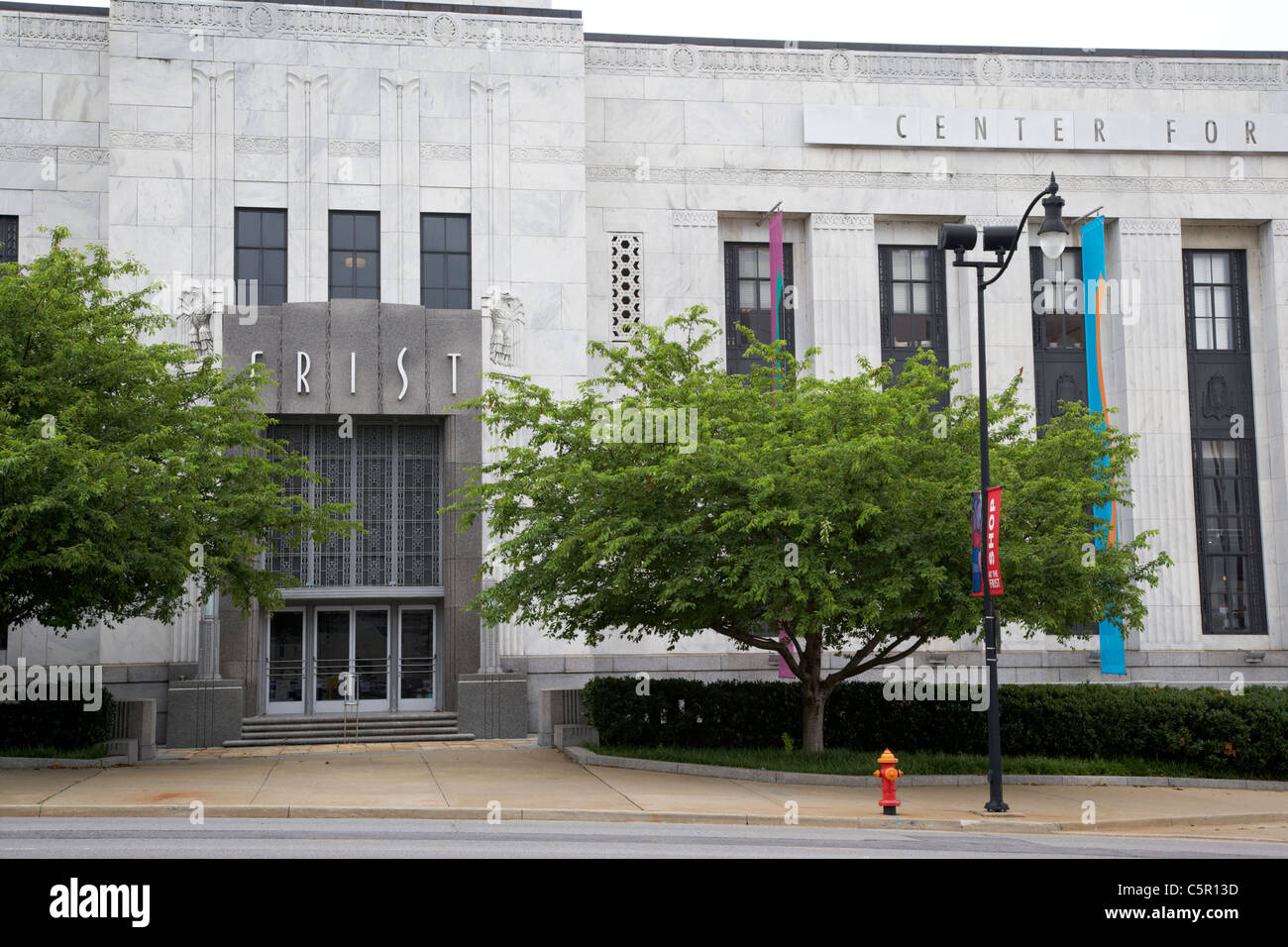 FRIST center per le arti visive la costruzione di Nashville Tennessee USA Immagini Stock