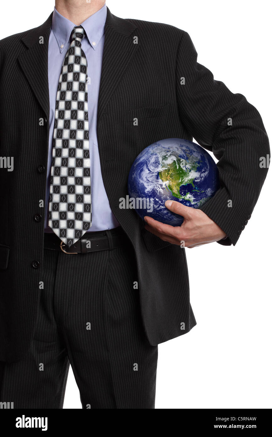 Global business team player Immagini Stock