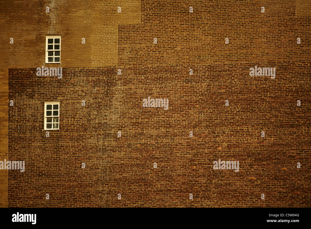 Stati Uniti d'America, New York Manhattan, muro di mattoni, full frame Immagini Stock