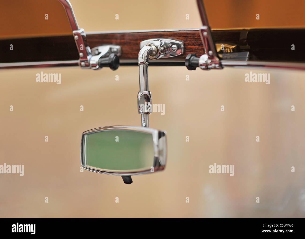 Germania, specchietto retrovisore delle auto d'epoca Immagini Stock
