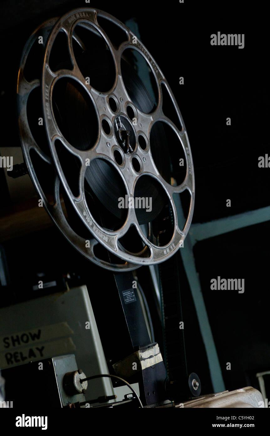 Cinema bobina di pellicola Immagini Stock