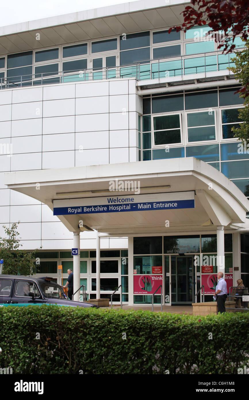 Royal Berkshire Hospital lettura Immagini Stock