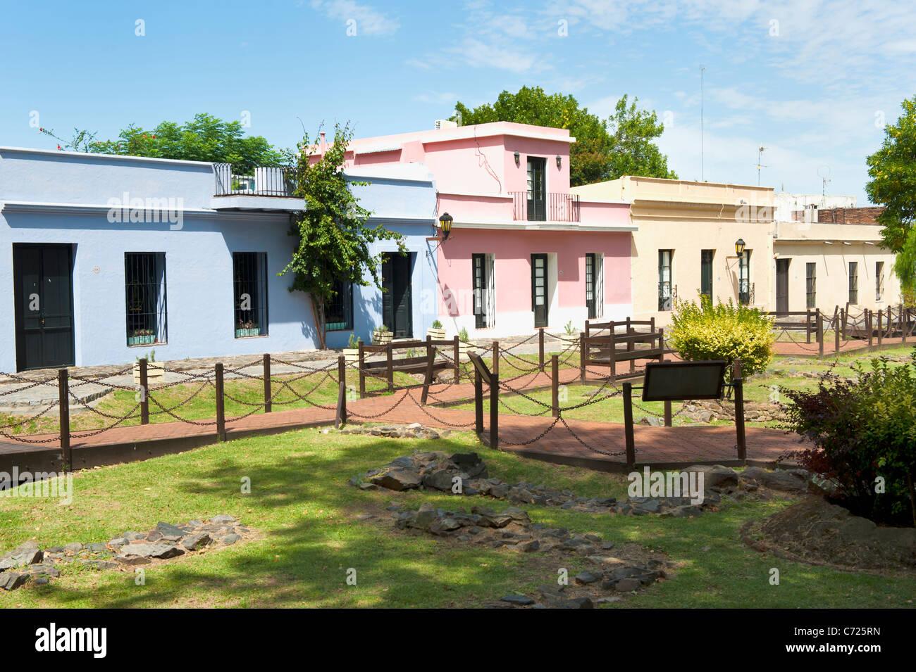 Colonia del Sacramento, Città Vecchia, Uruguay Immagini Stock