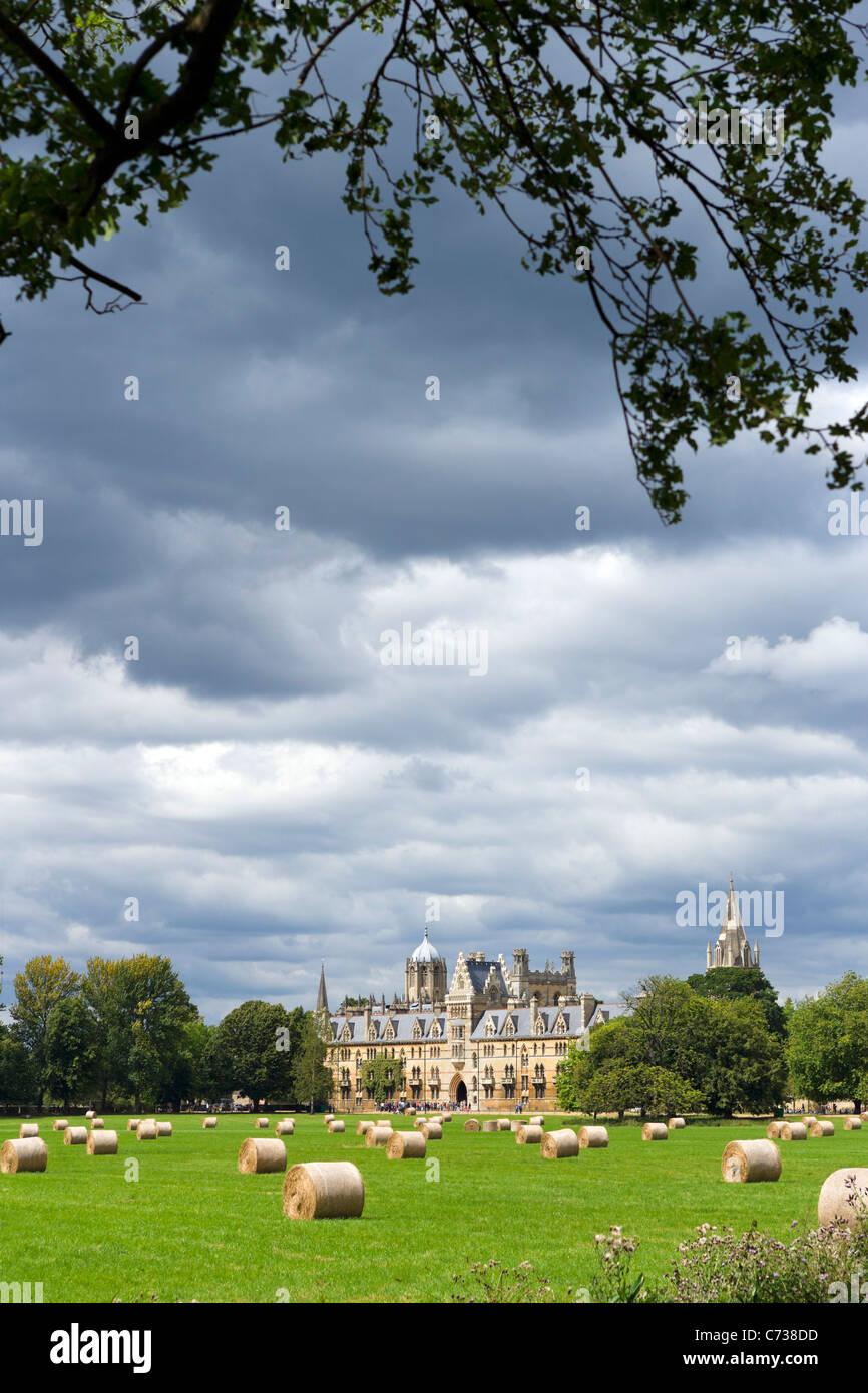 Christ Church College di tutta la Chiesa di Cristo Prato, Oxford, Oxfordshire, England, Regno Unito Foto Stock