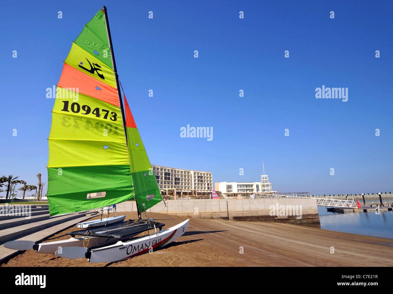 Millennium Resort Mussanah, Oman. Immagini Stock