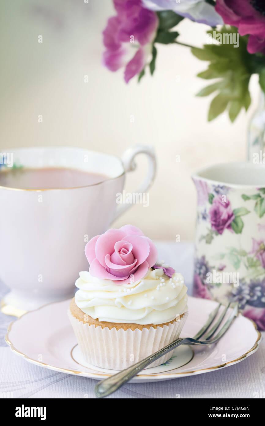 Tè del pomeriggio Immagini Stock
